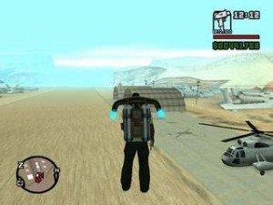 Mochila voadora para GTA - Jetpack