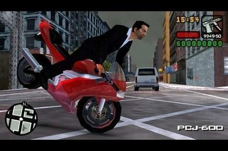 Empinar moto no GTA