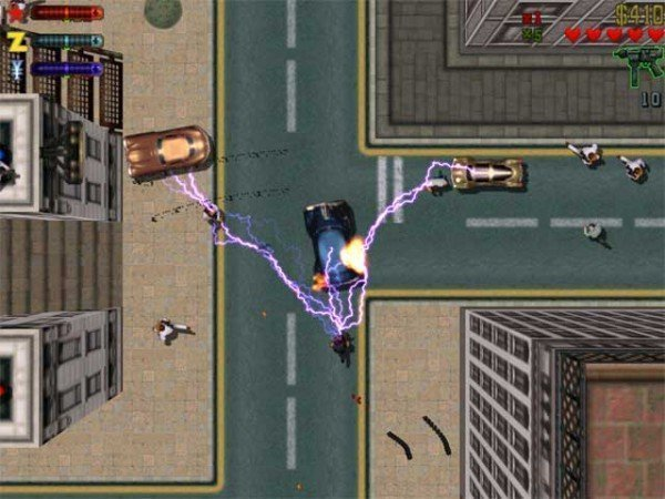 Cheat para arma elétrica no GTA 2