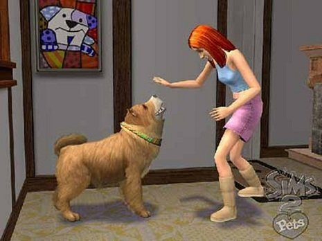 how to help dog pee sims 4
