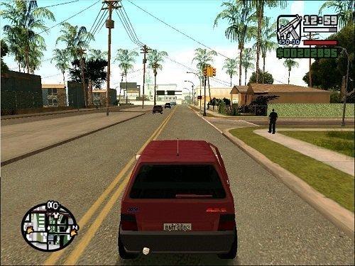 Uno no GTA San Andreas