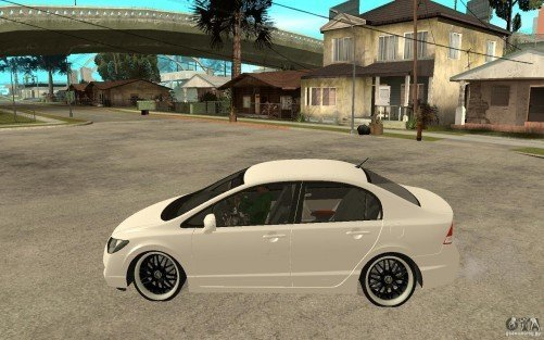 Honda Civic no GTA
