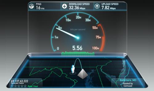 Como testar a velocidade da internet