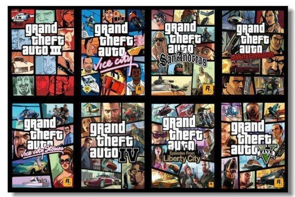 Toda a série GTA