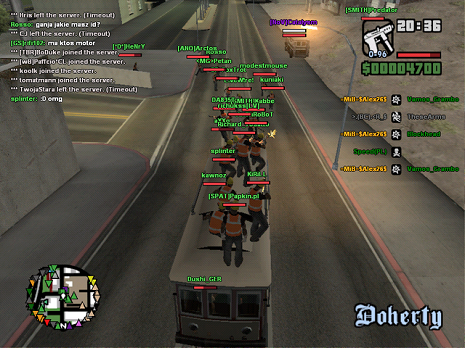 GTA Multiplayer SAMP