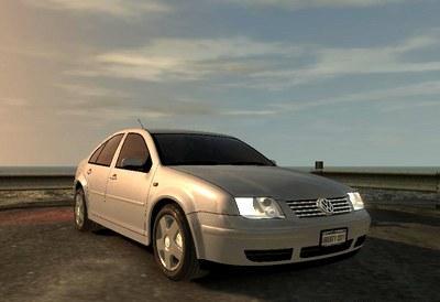 Volkswagen Bora no mod do jogo GTA IV