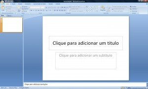 Como fazer slides no Power Point