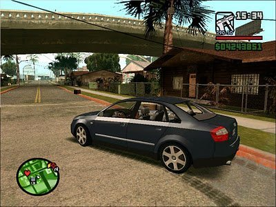 MOD do Audi A4 no GTA San ANdreas