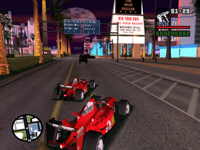 Ferrari do Felipe Massa no GTA San Andreas