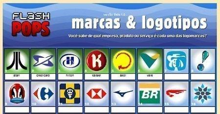 Solução do Flash Pops Marcas e Logotipos 1