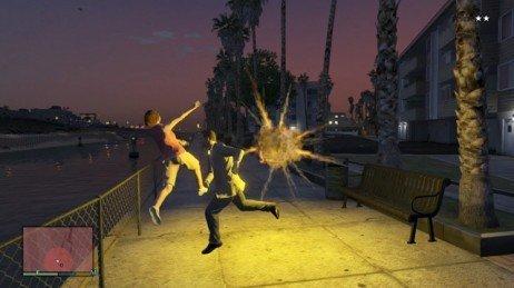 Código para golpes explosivos em GTA V