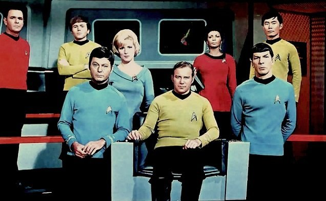 Star Trek - Elenco