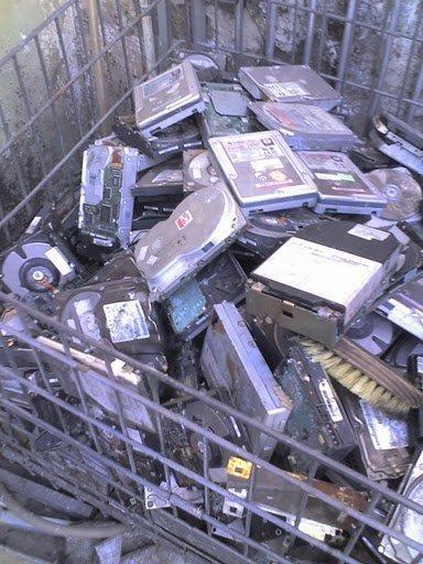 Ferro velho de computadores